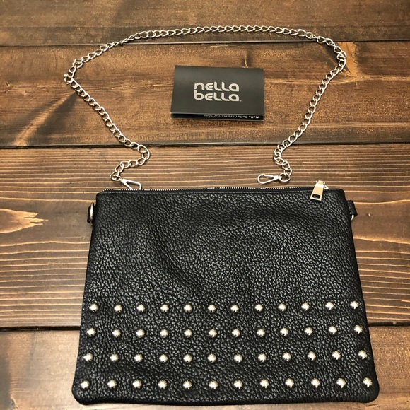Nella Bella Adjustable Studded clutch
